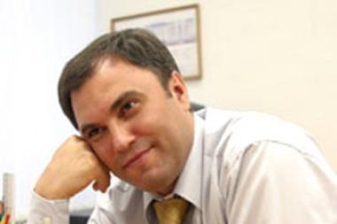 Rusijos vyriausybės aparato vadovu paskirtas V.Volodinas