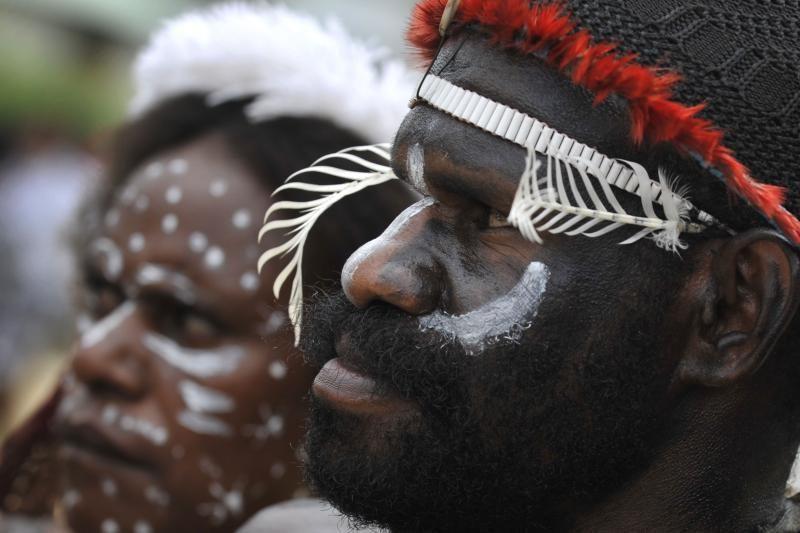 Papua ir Naujojoje Gvinėjoje areštuoti įtariamo kanibalų kulto nariai