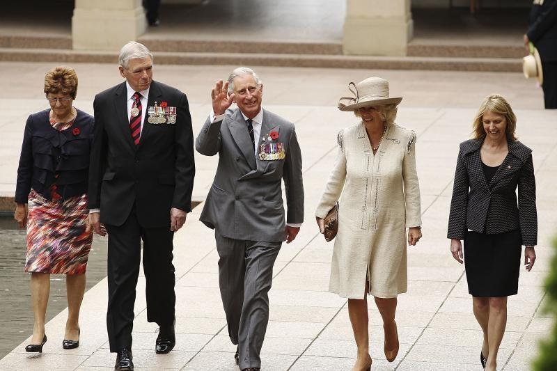 Didžiosios Britanijos princas Charlesas gyrė daugiakultūrę Australiją