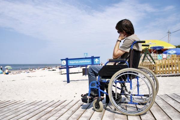 Neįgalieji tapo verslu