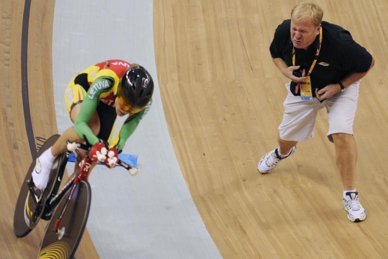Komandinėse dviračių lenktynėse lietuvės liko ketvirtos