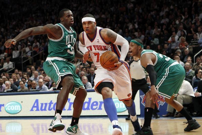 """Fantastiškai žaidęs C.Anthony atvedė """"Knicks"""" į pergalę"""
