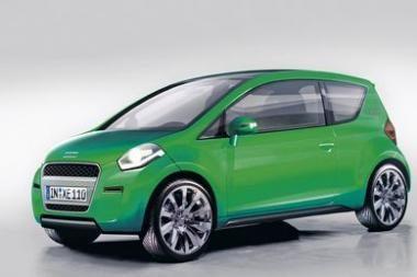 """Mažiausia """"Audi"""