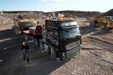 Galingiausio pasaulyje sunkvežimio premjera