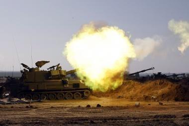 Konfliktas Gazos ruože plečiasi