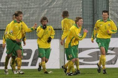 FIFA klasifikacijoje Lietuvos futbolo rinktinė pakilo į 58-ą vietą