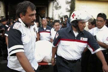 Meksikoje naktiniame klube sutrypta 12 žmonių