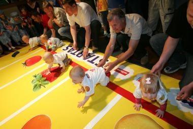 Pernai Vilniaus apskrityje gimė 1 tūkst. kūdikių daugiau nei 2007 metais