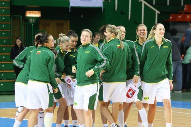 Moterų krepšinio rinktinė pirmauja atrankos grupėje