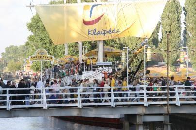 Į Jūros šventę atplaukia Vokietijos lietuviai
