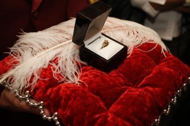Romoje iš juvelyrinės parduotuvės pavogtas pusę milijono eurų kainuojantis žiedas