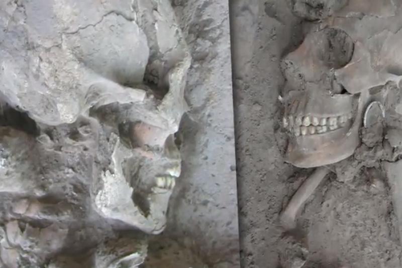 Meksikoje archeologai atkasė ateivio kaukolę?