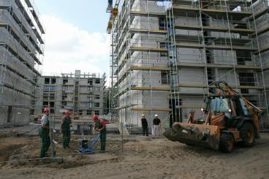 Iš statomo namo pavogė statybines medžiagas