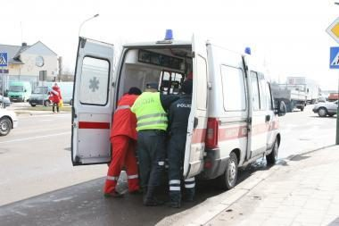 Kauno rajone susidūrus automobiliams nukentėjo mažametė
