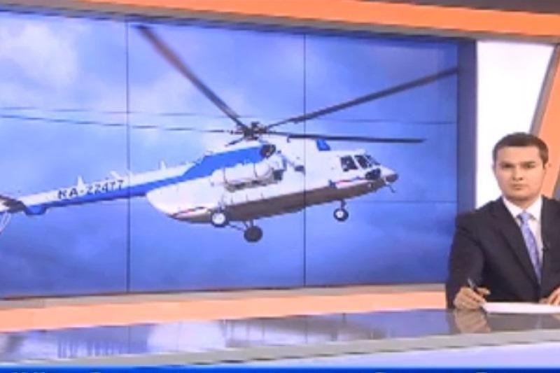 Rusijoje nukrito beveik dvi tonas sprogmenų skraidinęs sraigtasparnis