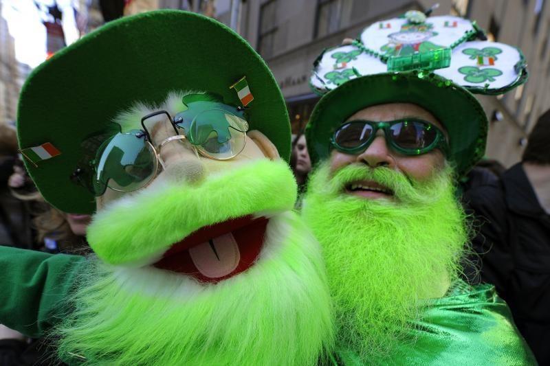 Airijoje – Šv.Patriko dienos linksmybės