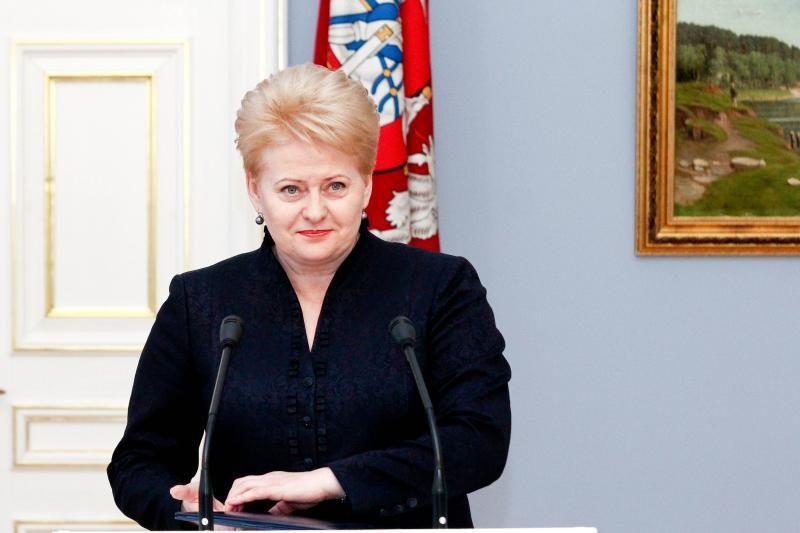 Prezidentė D. Grybauskaitė: tragiški įvykiai nepalaužė tikėjimo laisve