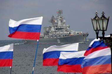 Rusijos laivynas pasitrauks iš Ukrainos