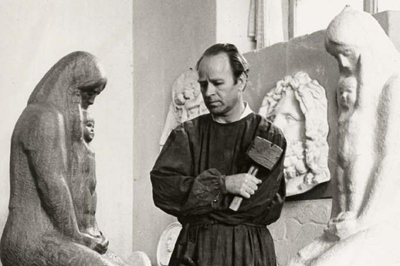 Jubiliejinė skulptoriaus Leono Žuklio paroda