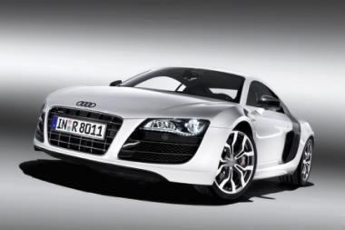 """Nauja """"Audi R8"""
