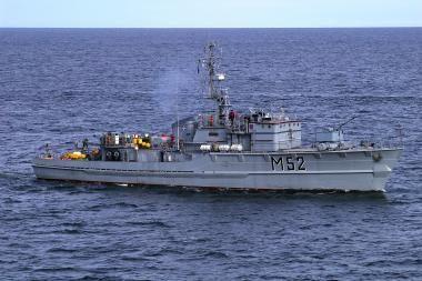 """Laivas """"Sūduvis"""" dalyvaus pratybose BALTOPS 2010"""