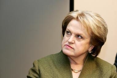 K.Prunskienė Rusijoje tariasi dėl bendradarbiavimo