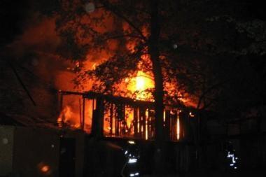 Savaitgalį gaisruose žuvo šeši žmonės