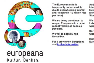 Europos interneto biblioteka neatlaikė antplūdžio