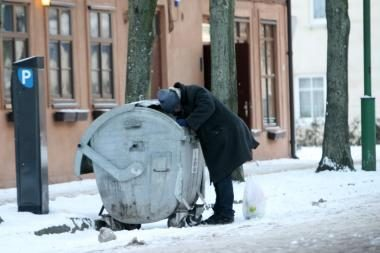 Medikai: šalčio aukų per savaitgalį Kaune nebuvo