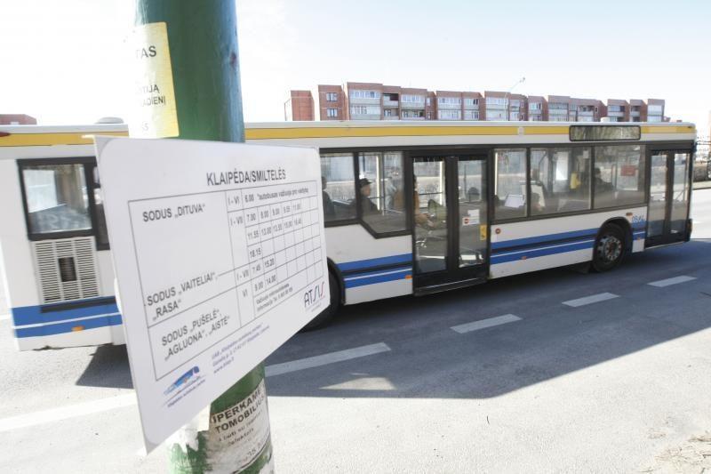 Sodininkai nori, kad autobusas važiuotų kitaip