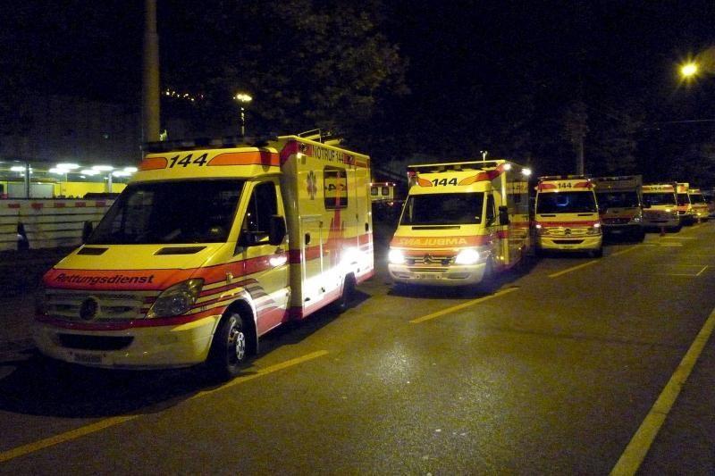 Šveicarijos pašto centras evakuotas dėl nežinomų miltelių