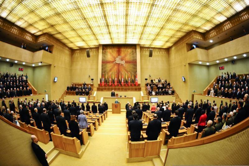 Seime paminėtas Europos Parlamento rezoliucijos 30-metis