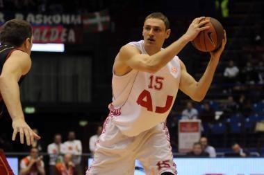 Atidėtose Ispanijos ACB krepšinio lygos trisdešimtojo turo rungtynėse - Mindaugo Katelyno klubo pergalė