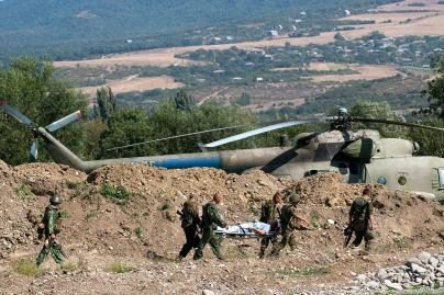 Gruzijos ir Rusijos pajėgos apsikeitė belaisviais