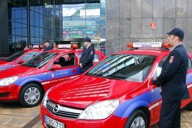 Vilniuje municipalinės policijos nėra