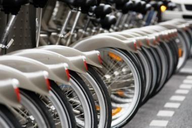 Konkurse dviračių nuomos terminalams įrengti - 9 dalyviai