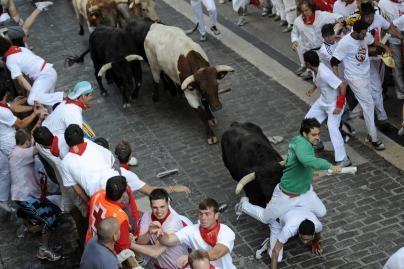 Ispanijoje per Pamplonos festivalį žuvo airis