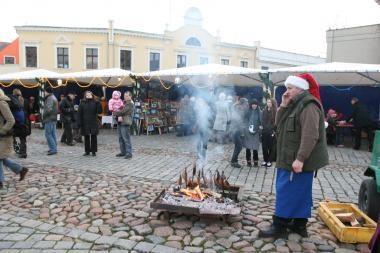 Kalėdinis jomarkas grįžta į Klaipėdą