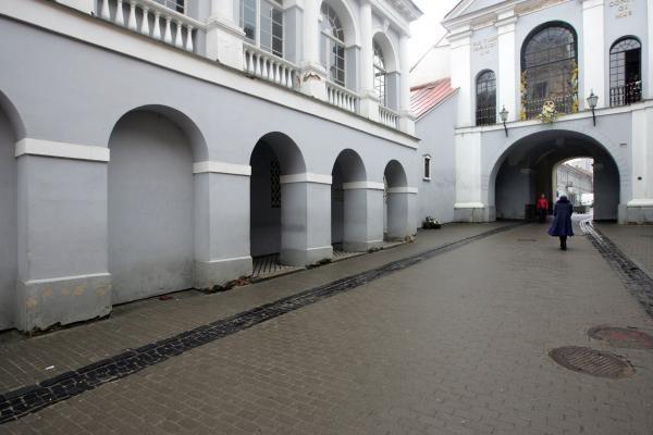 Nustatyta Aušros vartų galerijai padaryta žala