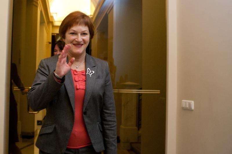 D. Grybauskaitė apie B. Vėsaitės planus: grąžinama korupcinė praktika