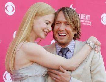 Nicole Kidman susilaukė dukters