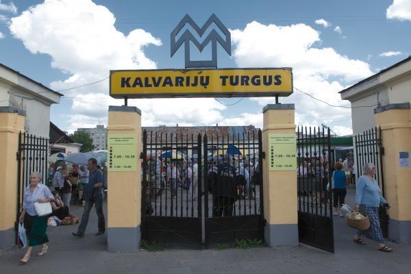 Sostinės savivaldybė dėl Kalvarijų turgaus nuomos kovoja teismuose