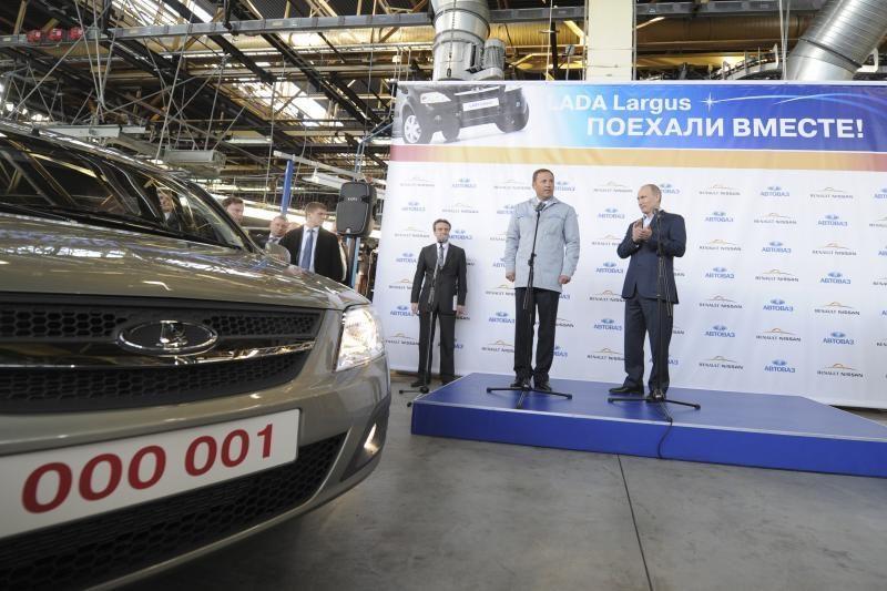 """""""Renault-Nissan"""" ir AVTOVAZ ambicija – 1,6 mln. automobilių per metus"""