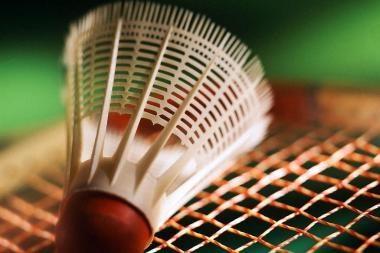Lietuviai nori tarptautinio badmintono turnyro