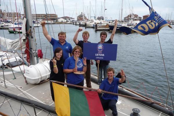 """The Tall Ships Races"": antroji jachtos ""Lietuva"" pergalė"