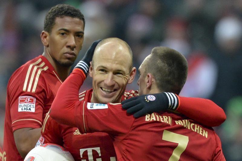 """Bayern"" negailestingai 6:1 pažemino ""Werder"" (rezultatai)"