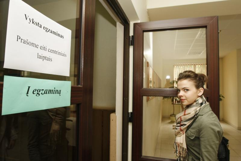 Teismui apskųstas ministro įsakymas dėl lengvatų per egzaminą