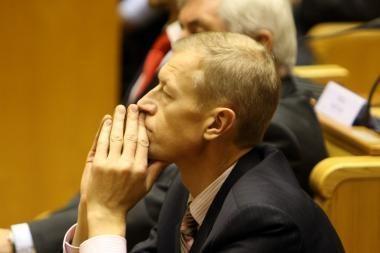 Socialdemokratai inicijuoja interpeliaciją Seimo vicepirmininkui A.Kašėtai
