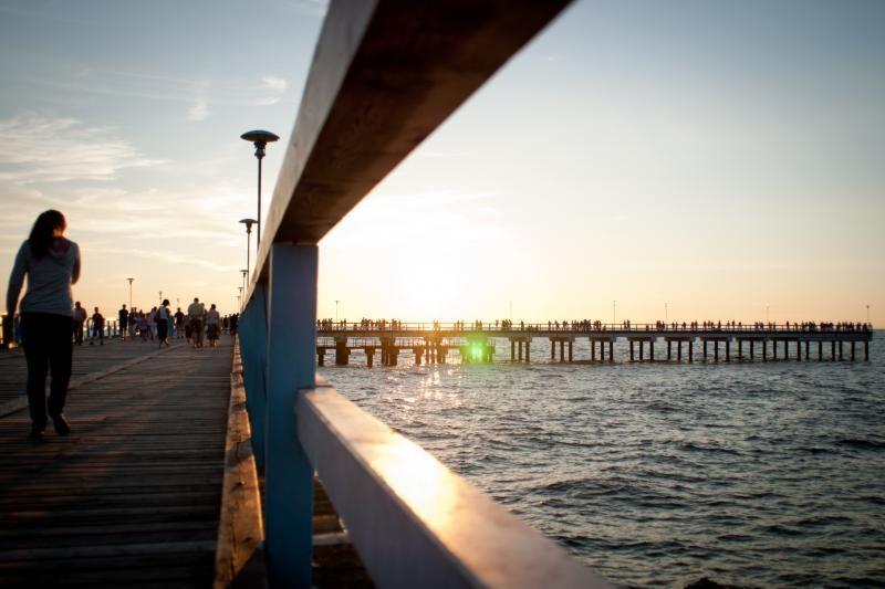 Palangos paplūdimius norima apšviesti hibridiniais žibintais