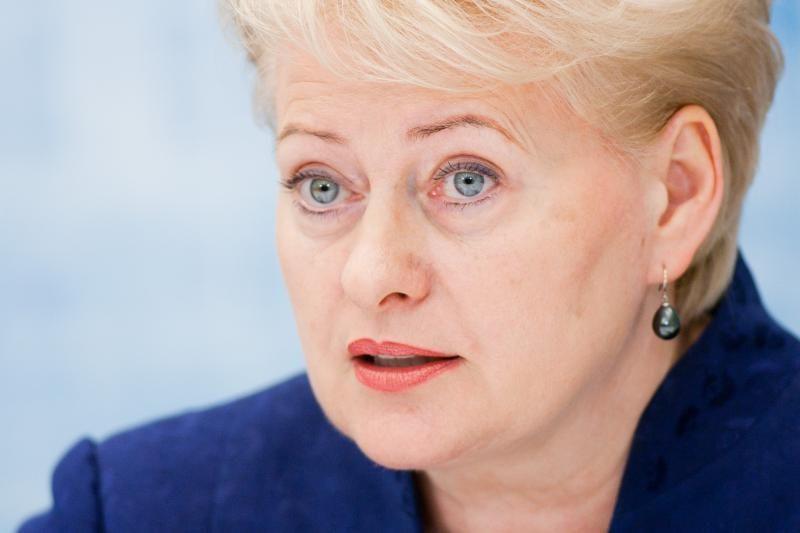 Klaipėdos uoste lankysis šalies prezidentė D.Grybauskaitė